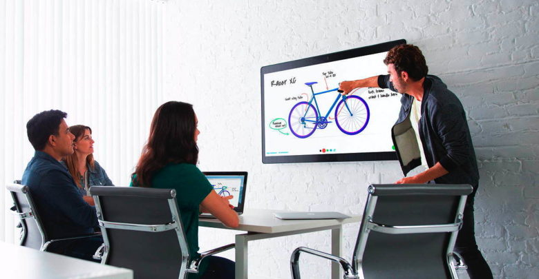 """Cisco Webex Teams ist eine Collaboration-Komplettlösung und verlagert das Meeting, die Tools, Daten und """"Räumlichkeiten"""" komplett in die Cloud. (Foto: Cisco)"""