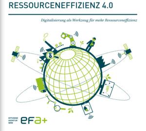Die EFA-Broschüre weist auf die digitalen Baustellen in der Produktion hin.