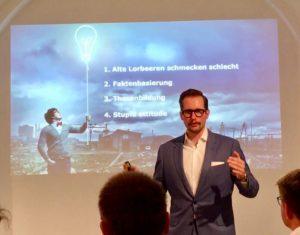 CEO Christian Berner führt die digitale Evolution der Berner Group an.