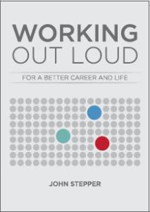 John Stepper hat ein Buch über Working out loud geschrieben.