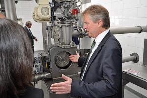 Die Netzsch-Gruppe stellt und vertreibt Welt unter anderem Analysegeräte, Mahlmaschinen und Pumpsysteme. (Foto: Netzsch-Gruppe)