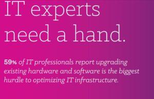Viele IT-Abteilungen sind mit der Umsetzung neuer Unternehmensstrategien beauftragt, kämpfen jedoch mit der Pflege der Infrastruktur. (Bild: Insight Enterprises)