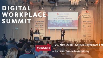 Photo of Digital Workplace Summit 2018 – eine Fachkonferenz für alle Aspekte der digitalen Arbeit