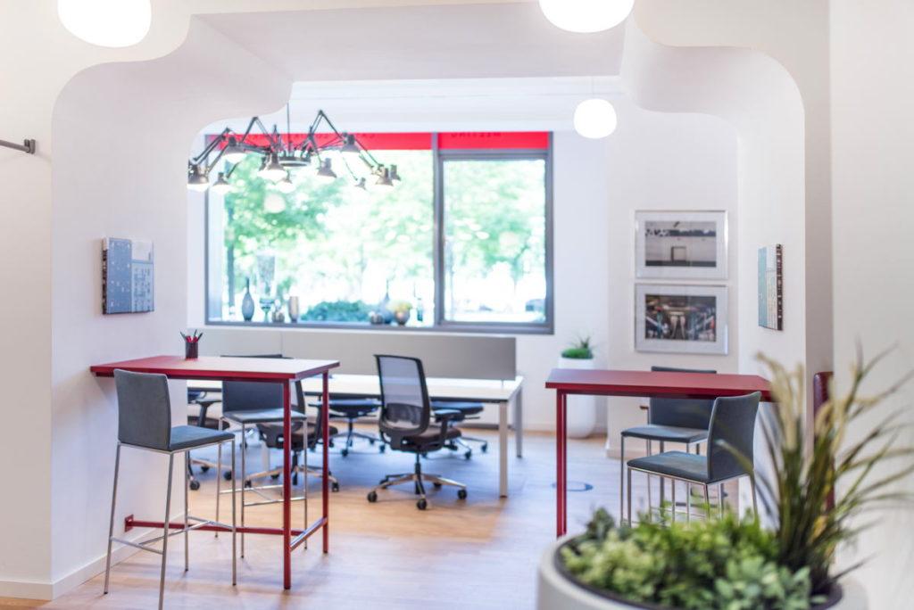 Die Coworking-Räume in der Alten Hopfenpost fallen etwas klein aus, lassen aber konzentrierte Arbeit gut zu. (Foto: Satellite Office)