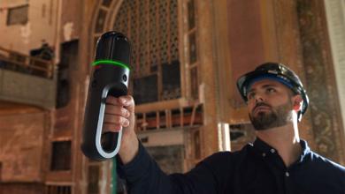 Leica BLK2GO: 3D-Scanning von Gebäuden wird mobil