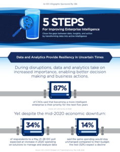 Führungskräfte wollen trotz Krise weiter in Datenanalyse investieren, um künftig eine bessere Grundlage für Geschäftsentscheidungen zu haben. (Quelle IDC/Qlik)
