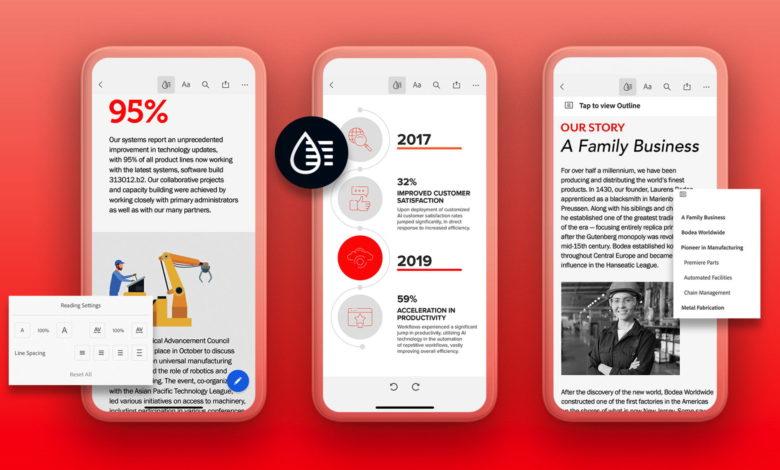 Liquid Mode: PDF-Dokumente werden endlich Smartphone-tauglich