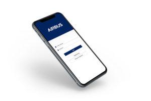 Über die responsive, auf HTML 5 basierte Webanwendung Connext Cube Mobile View hat die Belegschaft von Airbus Zugriff auf abrechnungsrelevante HR-Dokumente.(Foto: Airbus/Formware)